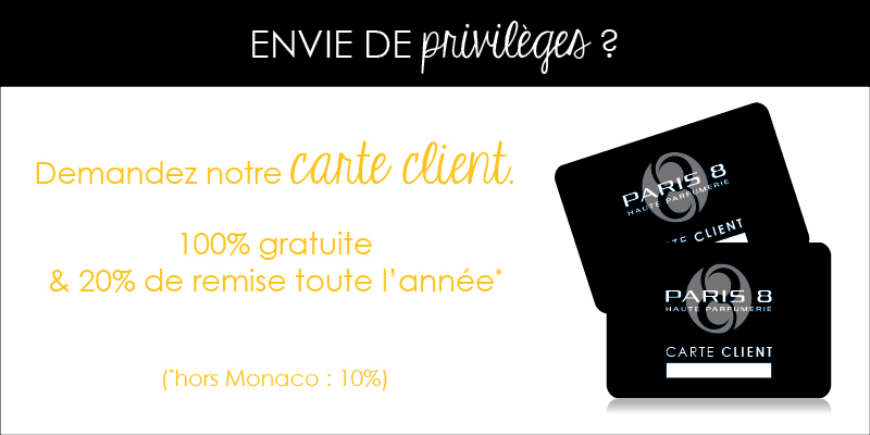 Carte client Paris 8