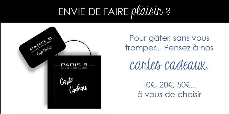 Cartes cadeaux Paris 8