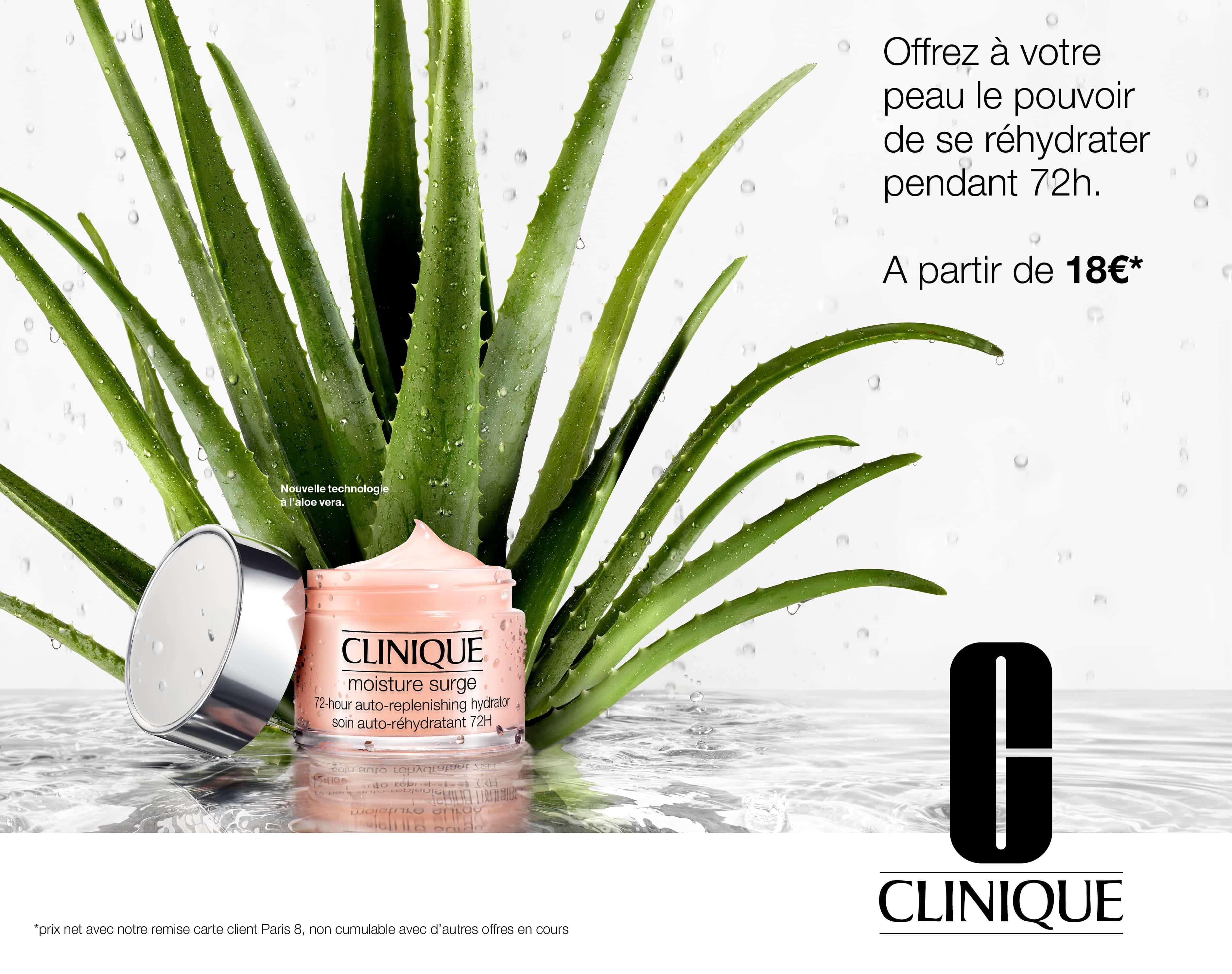 Moisture Surge, CLINIQUE - Paris 8