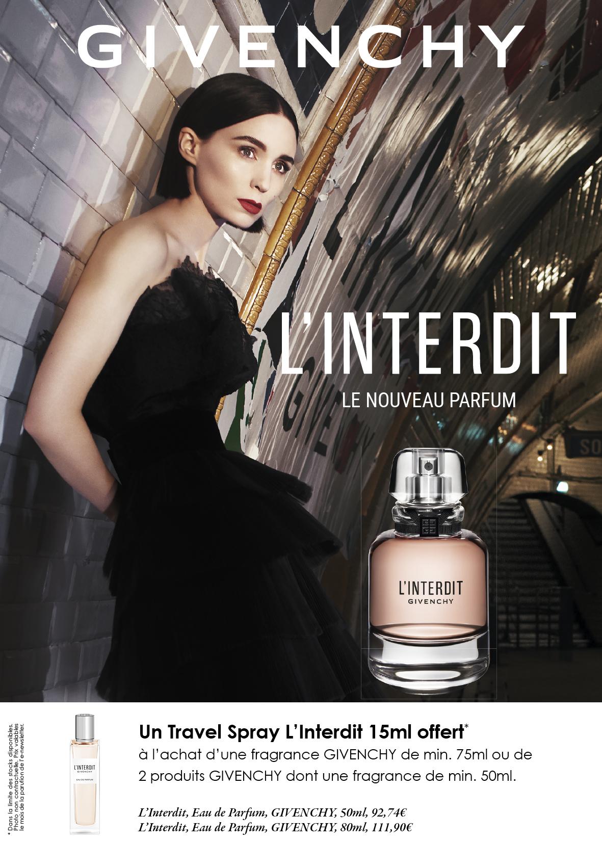 De Paris ParfumGivenchy L'interditEau 8 nwN0PXOk8Z
